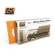 AFRIKA KORPS COLOURS SET<br> AK550